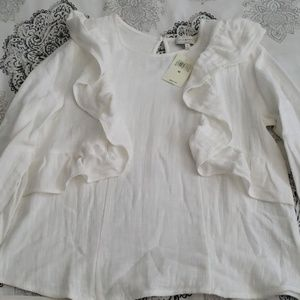 Brand New Lucky Brand Long Sleeve Blouse